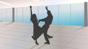 dance lessons Royalty Free Stock Images