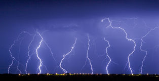 dance lightning Στοκ φωτογραφία με δικαίωμα ελεύθερης χρήσης