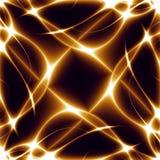 Dance of Lights, fractal02g6 Royalty Free Stock Images