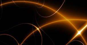 Dance of Lights. fractal02T Stock Images