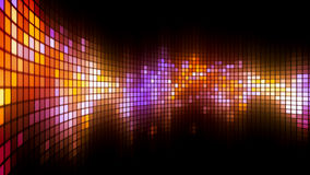 Dance Lights Wall Background. Abstract colorful led screen background for party,holidays,fash ion,dance and celebration. 8K Ultra HD Resolution at 300dpi Royalty Free Illustration