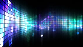 Dance Lights Wall Background Royalty Free Stock Image