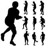 Dance man Stock Images