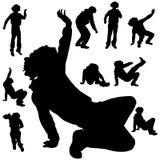 Dance man Stock Photography