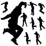 Dance man Stock Image