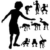 Dance man Royalty Free Stock Images