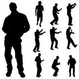Dance man Royalty Free Stock Photo