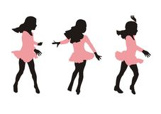 Dance motion Stock Photography