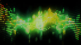 Dance Music Light Box Background Stock Photo