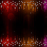 Dance Music Party Background Stock Image