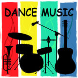 Dance Music Shows Soundtrack Sound And Track Royalty Free Stock Photo