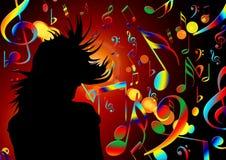 Dance, Music, Treble Clef, Sound Royalty Free Stock Photo