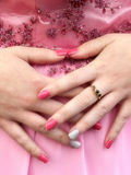 Dance nails Royalty Free Stock Images