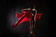 Dance nude Royalty Free Stock Photo