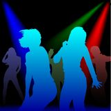 Dance Parade 2. High detailed vector illustration Royalty Free Stock Photo