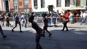 The 2014 Dance Parade New York 8. Dance Parade New York is an entity of Dance Parade Inc. whose charitable mission is to promote dance as an expressive and royalty free stock photo