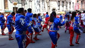 The 2014 Dance Parade New York 38. Dance Parade New York is an entity of Dance Parade Inc. whose charitable mission is to promote dance as an expressive and Royalty Free Stock Photo