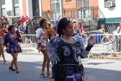 The 2014 Dance Parade New York 44. Dance Parade New York is an entity of Dance Parade Inc. whose charitable mission is to promote dance as an expressive and Royalty Free Stock Images