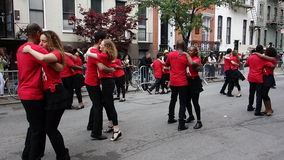 The 2014 Dance Parade New York 90. Dance Parade New York is an entity of Dance Parade Inc. whose charitable mission is to promote dance as an expressive and Royalty Free Stock Image
