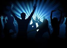Dance Party vector illustration