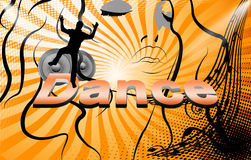 Dance, party Stock Image