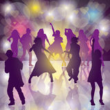 Dance Party Royalty Free Stock Photos
