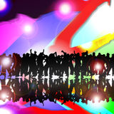 Dance party Stock Images