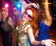Dance party fotografia de stock