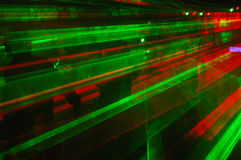 Dance party. Big gothic and industrial party with lasers royalty free stock images