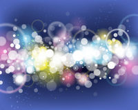 Dance Party Background vector illustration