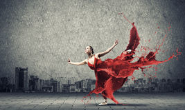 Dance with passion Royalty Free Stock Photo