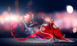 Dance with passion Royalty Free Stock Photos