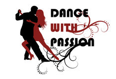 Dance and passion. Stock Photos