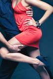 Dance of passion Royalty Free Stock Photos