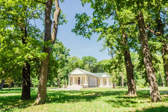 Dance Pavilion of the 19th century in the park Royalty Free Stock Images