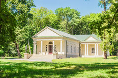 Dance Pavilion of the 19th century in the park Stock Photo