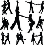Dance people Royalty Free Stock Images