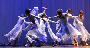 Dance performance Royalty Free Stock Photography