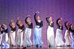 Dance performance Royalty Free Stock Image