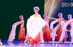 Pretty Huadan 7 -Chinese Classical Dance-Graduation Show of Dance Department royalty free stock photography