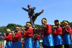 Dance Raden Mas Said Stock Photos