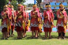 Dance Raden Mas Said Stock Photography