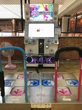 Dance Dance Revolution DDR arcade Royalty Free Stock Photo