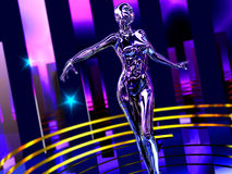 Dance robot Royalty Free Stock Photography