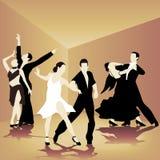 Dance school Royalty Free Stock Photos