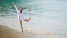 Dance in the sea Royalty Free Stock Photos