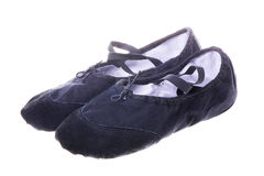DANCE SHOES. Woman's old dance/exercise shoes Royalty Free Stock Photos