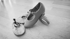 Dance shoes Royalty Free Stock Images