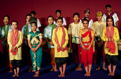 Dance Show, Cambodia Royalty Free Stock Photography