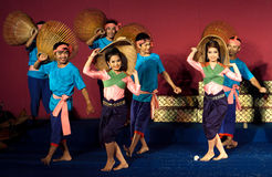 Dance Show, Cambodia Royalty Free Stock Photo